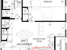 Parsons place property types for Ada bedroom